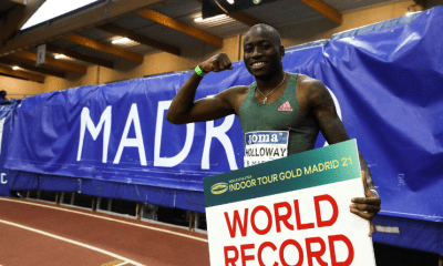 Meeting de Madrid - Grant Holloway bat le record du monde du 60 m haies