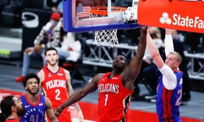 NBA : Zion Williamson prend une nouvelle dimension