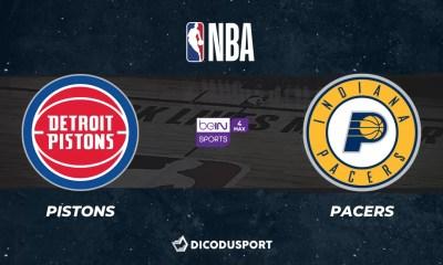 NBA notre pronostic pour Detroit Pistons - Indiana Pacers
