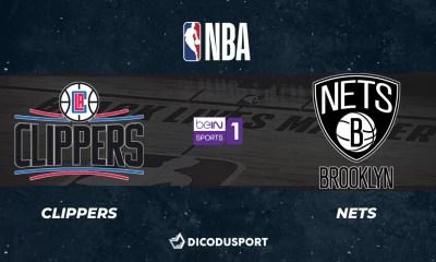 NBA notre pronostic pour Los Angeles Clippers - Brooklyn Nets