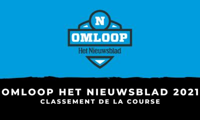 Omloop Het Nieuwsblad 2021 - Le classement de la course