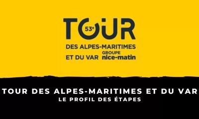 Tour des Alpes-Maritimes et du Var 2021 - Le profil des étapes