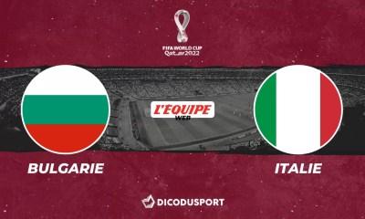 Football – Q. Coupe du monde notre pronostic pour Bulgarie - Italie
