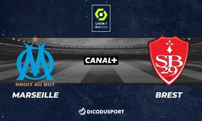 Football - Ligue 1 notre pronostic pour Marseille - Brest