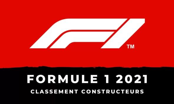 Formule 1 le classement du championnat du monde des constructeurs 2021