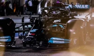 Grand Prix de Bahreïn - Lewis Hamilton remporte la première course de la saison