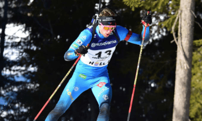 Mondiaux juniors de biathlon - Émilien Claude champion du monde de la poursuite à Obertilliach