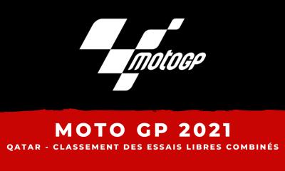 MotoGP - Grand Prix du Qatar le classement des essais libres combinés