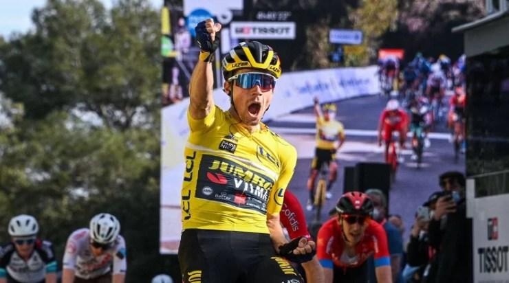 Paris-Nice - Primoz Roglic remporte la 6ème étape au sprint