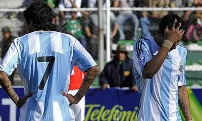 1er avril 2009 - L'Argentine encaisse un 6-1 en Bolivie