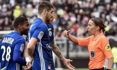 28 avril 2019 - Stéphanie Frappart arbitre en Ligue 1