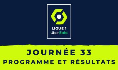 Calendrier Ligue 1 2020-2021 - 33ème journée Programme et résultats