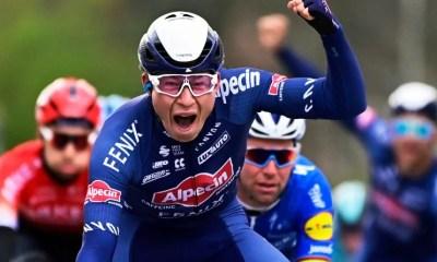Cyclisme - Grand Prix de l'Escaut - Jasper Philipsen piège le Wolfpack