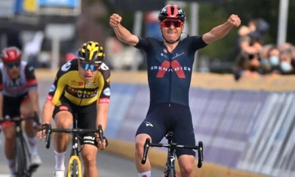 Cyclisme - La Flèche Brabançonne - Tom Pidcock s'impose en dominant Van Aert et Trentin