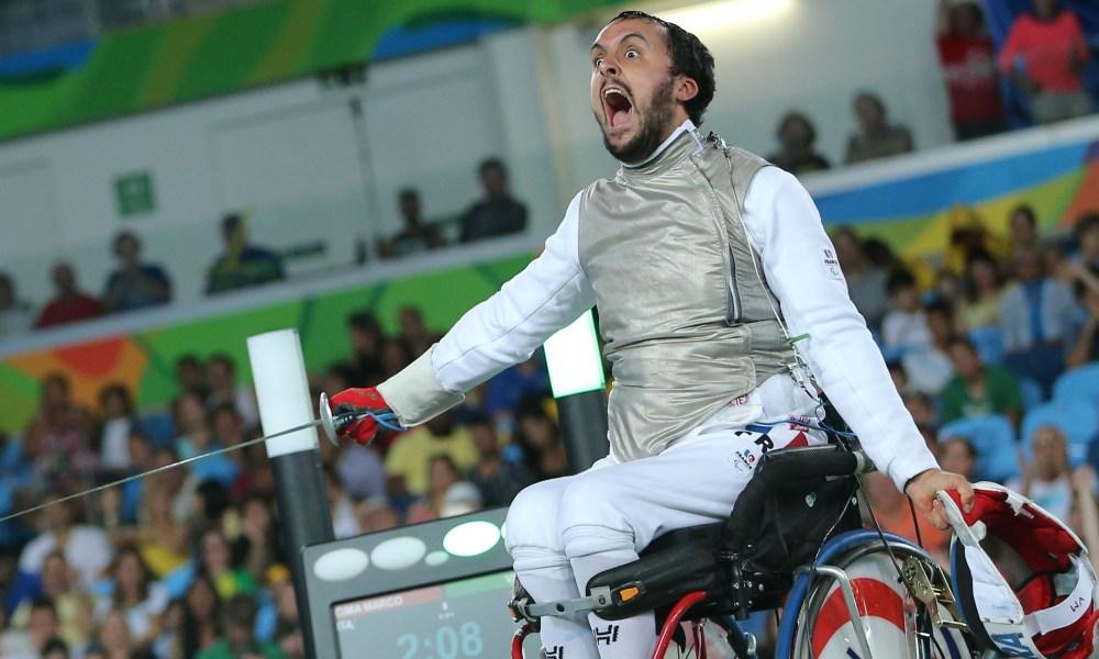 Maxime Valet Escrime fauteuil