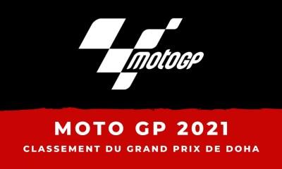 MotoGP - Grand Prix de Doha - Le classement de la course
