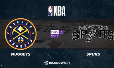 NBA notre pronostic pour Denver Nuggets - San Antonio Spurs