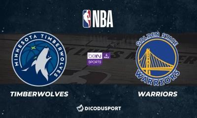 NBA notre pronostic pour Minnesota Timberwolves - Golden State Warriors