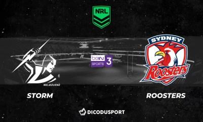 NRL 2021 notre pronostic pour Melbourne Storm - Sydney Roosters