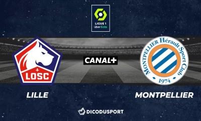 Pronostic Lille - Montpellier, 33ème journée de Ligue 1