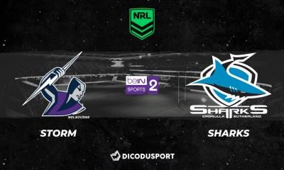 Pronostic Melbourne Storm - Cronulla Sharks, 8ème journée de NRL
