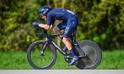 Tour de Romandie - Rohan Dennis remporte le prologue, triplé INEOS Grenadiers