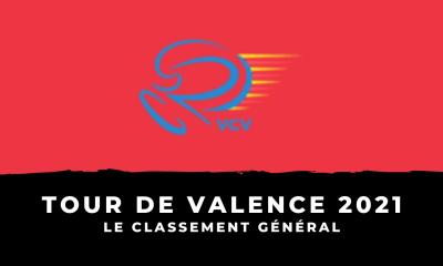 Tour de Valence 2021 - Le classement général