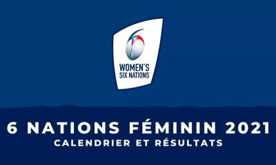 Tournoi des 6 Nations féminin 2021 - Calendrier et résultats