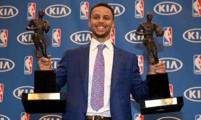 10 mai 2016 : Stephen Curry, MVP à l'unanimité