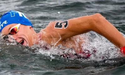 Championnats d'Europe de natation : Marc-Antoine Olivier deuxième du 5km