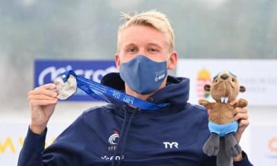 Championnats d'Europe de natation : Marc-Antoine Olivier en argent sur 10 km