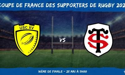 Coupe de France des supporters de rugby 2021 - 16ème de finale US Carcassonne – Stade Toulousain