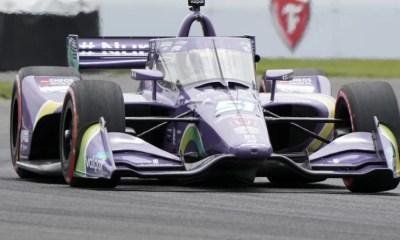 IndyCar - Romain Grosjean deuxième à Indianapolis