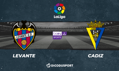 Pronostic Levante - Cadiz, 38ème journée de Liga