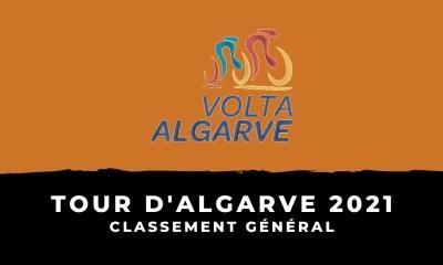 Tour d'Algarve 2021 - Le classement général