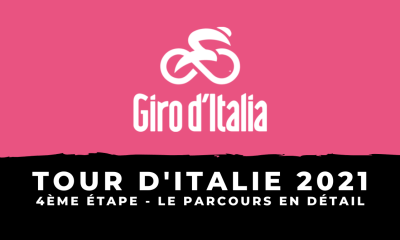 Tour d'Italie 2021 - 4ème étape - Le parcours en détail