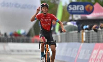 Tour d'Italie 2021 Gino Mäder gagne la 6ème étape, Attila Valter en rose