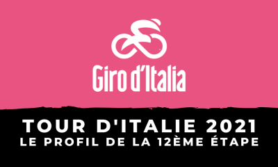 Tour d'Italie 2021 : le profil de la 12ème étape