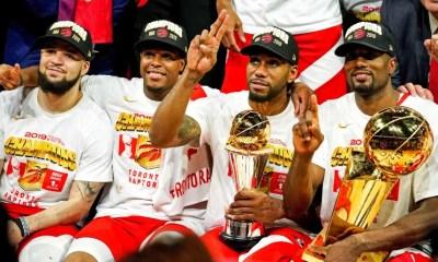 13 juin 2019 - Les Raptors remportent le premier titre NBA de leur histoire