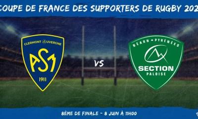 Coupe de France des supporters de rugby 2021 - 8ème de finale ASM Clermont - Section Paloise