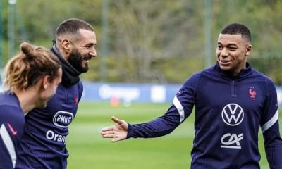 Équipe de France : Karim Benzema et Kylian Mbappé associés face au Pays de Galles