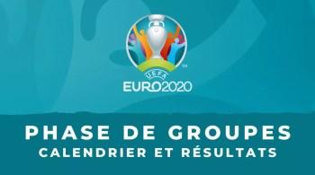 Euro 2020 Calendrier et résultats de tous les groupes