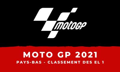 MotoGP - Grand Prix des Pays-Bas 2021 : le classement des essais libres 1