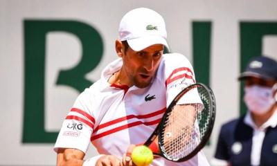 Roland-Garros : Dos au mur et mené 2-0, Djokovic pousse Musetti à l'abandon !