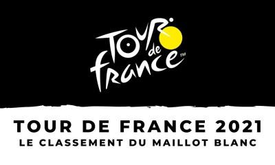 Tour de France 2021 - Le classement du meilleur jeune – Maillot blanc