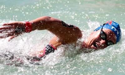 16 juillet 2017 : Aurélie Muller conserve son titre mondial sur 10 km en eau libre