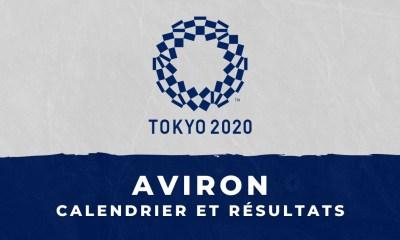 Aviron - Jeux Olympiques de Tokyo : calendrier et résultats
