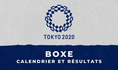 Boxe - Jeux Olympiques de Tokyo calendrier et résultats