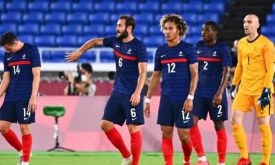 JO Tokyo 2020 – Football Les Bleus sortent par la petite porte