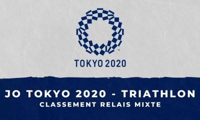 JO de Tokyo 2020 - Triathlon - le classement du relais mixte